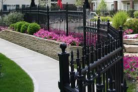 decorative garden fencing iron home outdoor decoration