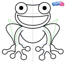 coloring nice simple frog drawing rcnrmnexi coloring