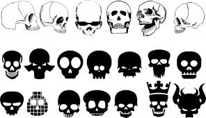 skull free vector 652 free vector for commercial use