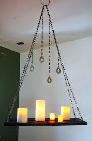 faux candle light fixtures faux wooden chandelier closdurocnoir com
