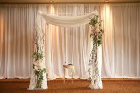 wedding arch no flowers grey pastel hued wedding in minneapolis curly