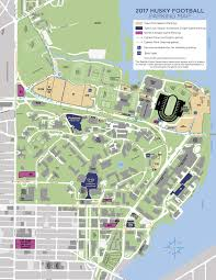 Portland Parking Map by Washington Huskies University Of Washington Athletics
