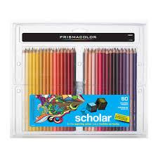 prismacolor colored pencils prismacolor scholar colored pencil set 60 color set