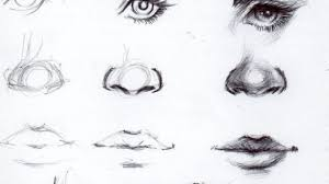 how to sketch lips hand drawn pencil sketches of eyes ears lips