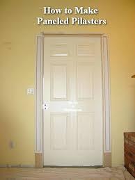 Exterior Door Casing Replacement How To Install Door Casing Door Design Installing Door Casing How