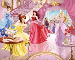 kids bedroom beauty disney princess wallpaper for kids room kids