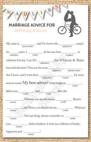 bridal mad libs wedding mad libs great for a reception totally this