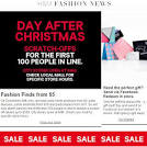 My Fashion Juice » H&M After Christmas Sale & Scratch-