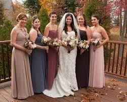 color bridesmaid dresses wedding ideas