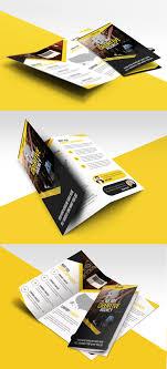 free tri fold business brochure templates multipurpose trifold business brochure free psd template