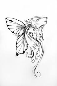 butterfly drawing ideas simple butterfly tattoos search