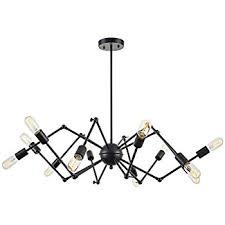 Diy Ceiling Ls Light Society 10 Light Chandelier Swag Pendant Matte