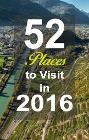 52 places to visit in 2016 limitless duo