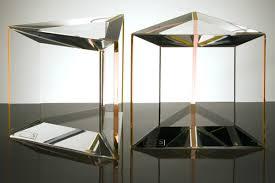 Trillion Acrylic Side Table