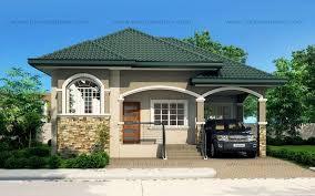 one story bungalow house plans atienza one story budget home shd 20115022 eplans