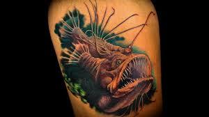 50 angler fish tattoos ideas