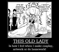 this old lady boruto meme by katsunojutsu95 on deviantart