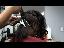 securetress com healthy 1 hour weave no sew glue tape part 2 of 2 youtube