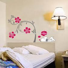 Stickers Chambre Bebe Arbre by Zy2174 Fleurs De Pvc Amovibles Arbre Stickers Autocollants Snoopy