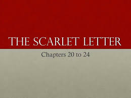 scarlet letter chapter 20 summary format