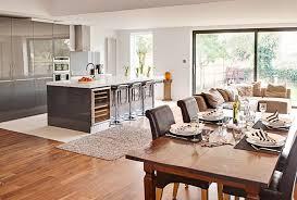 open plan kitchen diner ideas open plan kitchen and dining room designs home design plan