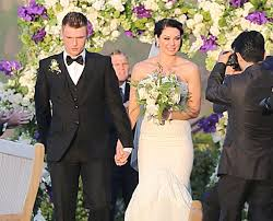 his and wedding nick cries at wedding no family member in attendance