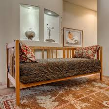 dappled path solid wood daybed frame