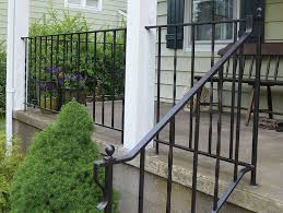 how to update and refinish old iron rails iron stair railing