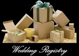 wedding regsitry bridal consultants to help choose wedding bridal registry items