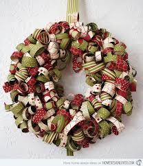 Designer Decorated Christmas Wreaths by 15 One Of A Kind Wreath Designs For The Christmas Season Home