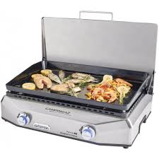 cuisine à la plancha gaz plancha au gaz campingaz master ex raviday barbecue