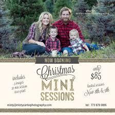 christmas mini sessions family portrait at christmas tree farm