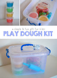 homemade play dough kit a simple and fun gift mama papa bubba
