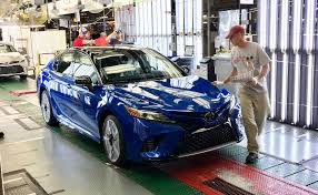 toyota company japan toyota u0027s kentucky plant launches 2018 camry