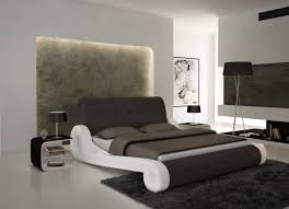 White Modern Bedroom Furniture by Bedrooms Modern White Bed Leather Bedroom Set Leather Platform