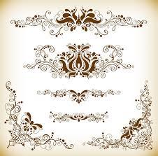 vintage design vintage design element vector graphis set free vector in