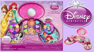 you can now disney princess makeup kit toy unboxing for kids how to make up diy