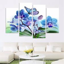 Wall Paintings For Living Room Online Get Cheap Artwork Blue Aliexpress Com Alibaba Group