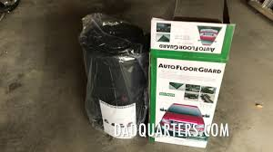 Garage Floor Snow Containment by Autofloorguard Garage Containment Mat Reviews 2017 Our Official