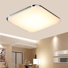 kitchen down lighting amazon com floureon 25 inch super thin flush mount led ceiling