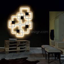 applique venn éclairage indirect noir luminaire pinterest