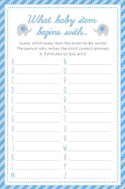 3 baby shower games we love printables gaming babies and baby
