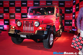 2015 mahindra thar facelift launched priced at rs 8 03 lakhs