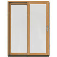 Patio Door Blinds In Glass by 59 X 80 Patio Doors Exterior Doors The Home Depot