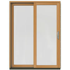 Blinds For Glass Sliding Doors by 59 X 80 Patio Doors Exterior Doors The Home Depot