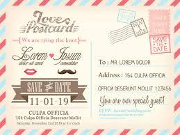 postcard wedding invitations invitations postcard europe tripsleep co