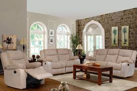 3 piece recliner sofa set buy metro 3 2 1 seater beige fabric recliner sofa set online in