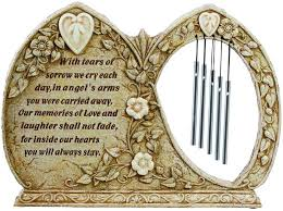 condolence gifts luminous memorial garden wind chimes sympathy gift