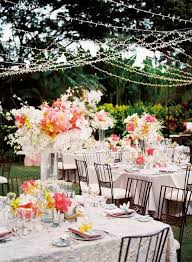 Backyard Wedding Centerpiece Ideas 55 Backyard Wedding Reception Ideas You Ll Happywedd