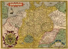 germania map antique map of germania by ortelius sanderus antique maps